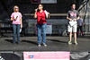 Kelly K from 99.7 DJX and Ryan Hoke of the WAVE 3 weather department join Dawne Gee as co-hosts of the 2016 Making Strides Against Breast Cancer Walk on Sunday morning. 10/30/16