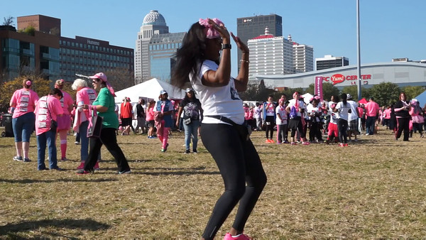 Strides Against Breast Cancer walk--PEARL