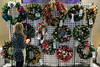A wall of wreaths greeted patrons as they entered the 2016 Festival of Trees & Lights on Friday afternoon. 11/11/16