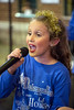 Olivia Haddox of Dancensation Studios belts out a holiday tune as part of the live performances at the 2016 Festival of Trees & Lights. 11/11/16