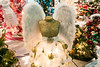 A golden bust with soft angel wings was one of the more creative tree toppers at the 2016 Festival of Trees & Lights. 11/11/16