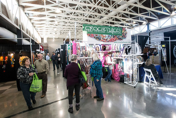 The massive floor space of the CityPlace Expo Center in La Grange was home to the 5th Annual Fall Arts Show. 11/13/16
