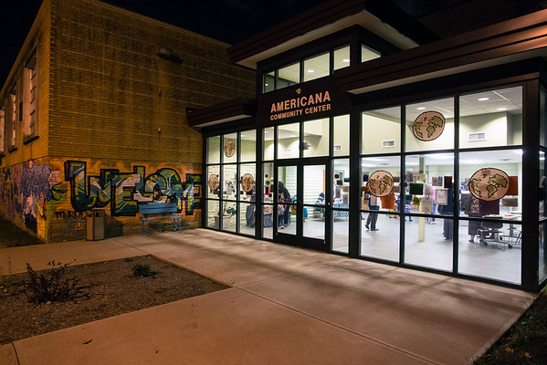 The Americana Community Center on Southside Drive is a major hub of activity in one of Louisville's most culturally diverse neighborhoods. 11/15/16