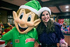 Mint the Elf and Katie Boggs make the rounds in the children's activity area of Christmas at the Galt House on Saturday afternoon. 11/19/16