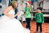 Snow Fairy Princess Hollie Nall greets Max and Mason Mastromichalis of St. Louis, MO to her enchanted world during Christmas at the Galt House. 11/19/16