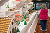 The Gingerbread Village of Christmas at the Galt House is part of a trail of holiday cheer that winds guests through several colorful exhibits. 11/19/16