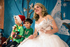 Mason and Max Mastromichalis pose with Snow Fairy Princess Hollie Nall during a Saturday afternoon visit to Christmas at the Galt House. 11/19/16