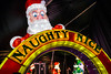 A naughty or nice archway completes the KaLightoscope experience at the Christmas at the Galt House's iconic attraction. 11/19/16