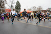 The 5k race of the 46th Annual Turkey Trot began at 8:15AM along Mill Brook Road on Thursday morning. 11/24/16