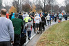 Walkers head along Mill Brook Road for the start of the 5k course during the 46th Annual Turkey Trot on Thursday. 11/24/16