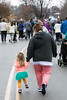 Many children participate as walkers in the annual Turkey Trot at the YMCA Northeast. 11/24/16