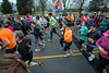 Thousands participate in the 46th Annual Turkey Trot on Thursday morning at the YMCA Northeast. 11/24/16