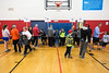 The gym at the Northeast YMCA served as a gathering point before the run of the 46th Annual Turkey Trot on Thursday morning. 11/24/16