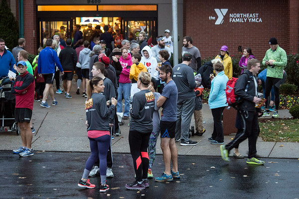 The 46th Annual Turkey Trot drew a few thousand participants and fans to the the Northeast YMCA on Thanksgiving morning. 11/24/16