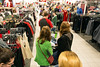 A line forms at the bay of cash registers at Kohl's on Oxmoor Lane early Friday. 11/25/16
