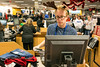 Kohl's employee David Remley sports a pair of antlers on Black Friday. 11/25/16