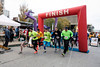 The Run, Run Rudolph 5K Run/Walk began near the corner of Fourth and Jefferson Streets at 4PM on Friday. 11/25/16