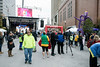 Crowds started to gather near the corner of Fourth and Jefferson Streets for the annual Run, Run Rudolph 5K Run/Walk on Friday afternoon. 11/25/16