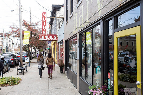NuLu was the spot for shoppers wishing to take advantage of Small Business Saturday. 11/26/16