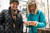 Debi and Amber Davis look for deals on Small Business Saturday at Scout on East Market Street. 11/26/16