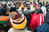 Waddell Elliott addressed the players in the annual Juice Bowl before the championship game in Shawnee Park on Saturday afternoon. 12/3/16