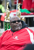 Waddell Elliott sits at the trophy table of the Juice Bowl in Shawnee Park on Saturday. 12/3/16