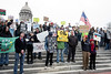 A crowd of at least 200 people rallied on the Capitol steps Sunday in a show of unified opposition to the Dakota Access Pipeline. 12/4/16