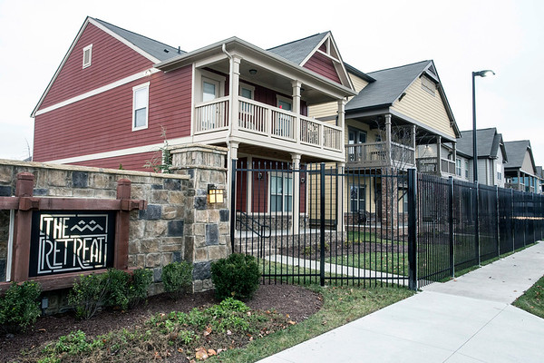 An off-campus housing facility called The Retreat was the site of an early morning shooting that injured three UofL students including two football players. 12/11/16