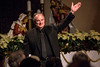 Conductor Kent Hatteberg greets the audience at St. Paul United Methodist Church in the Highlands for a Saturday performance of the Louisville Chamber Choir. 12/17/16