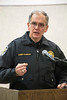 LMPD Chief Steve Conrad discussed the frustration among officers that goes with answering repeated calls to homes with a history of domestic violence, and how new grant funding will help the overall battle in Louisville. 12/19/16