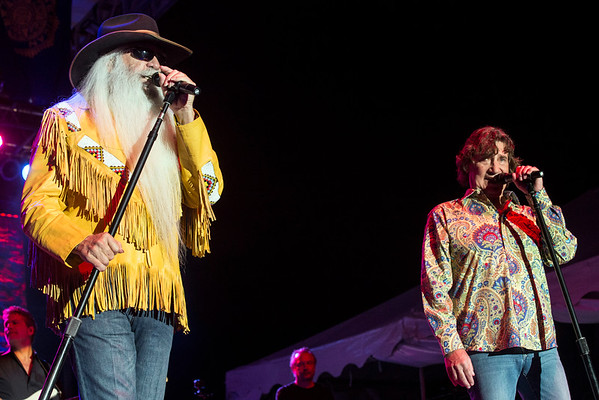 The Oak Ridge Boys played their 41st consecutive concert at the Kentucky State Fair on Sunday night. 8/21/16
