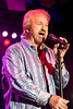 Duane Allen of The Oak Ridge Boys belts out some harmony during the 41st appearance by the legendary band at the Kentucky State Fair. 8/21/16