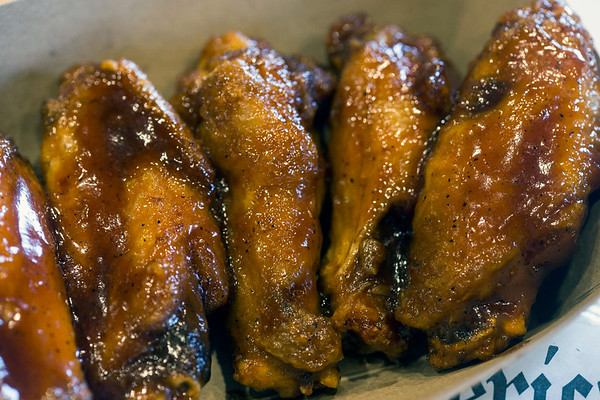 Ten different flavors of wings are offered on the menu at Daddy Rich's. 1/4/17