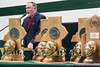 Trinity football coach Bob Beatty has now won 12 of the 24 state titles that the historic school began winning in 1968. 1/10/17