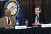 State representatives Darryl Owens and Jim Wayne participated in a forum on the repeal of the Affordable Care Act at the Louisville Central Community Center on Sunday. 1/15/17