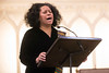 Patricia Bolds hits the high notes during a performance honoring the late Dr. King on Saturday. 1/14/17