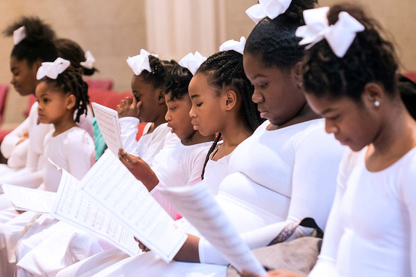 The African American Catholic Sacred Dance Ministry helped celebrate the life of Martin Luther King, Jr at the Cathedral on Saturday afternoon. 1/14/17