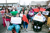 An audience numbered in the hundreds gathered at the Kroger on 2nd Street Saturday morning to voice concerns about the store's plans to leave the neighborhood. 1/21/17