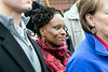 State Representative Attica Scott was one of the featured speakers at a rally on Saturday to protest the departure of the 2md Street Kroger. 1/21/17