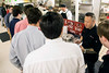 St. X students were treated to autographs and dialogue with celebrity chef Jet Tila during the Monday lunch rush. 1/23/17