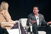 Papa John's founder John Schnatter talks about his career during an interview with Alli Truttmann at a GLI hosted event on Wednesday night. 1/25/17