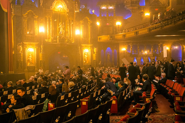 The Palace Theatre was the site of the annual Greater Louisville Inc gathering on Wednesday featuring Papa John's founder John Schnatter. 1/25/17