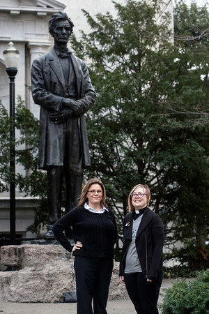 Kim Hibbard and Dawn Cooley founded Indivisible Kentucky to unite Kentuckians under the original principles of democracy. 2/22/17