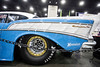 A 1957 Outlaw Pro Mod Chevy owned by Mark and Carol Burns sat on display at the Carl Casper's Custom Auto Show. 2/25/17