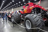 Jeffrey Cook's monster truck towered over the other exhibits at the Carl Casper's Custom Auto Show on Saturday. 2/25/17