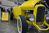 The 1932 Ford Hi-Boy owned by Bud and Joyce Sims of Louisville, KY greeted visitors upon entry to the Carl Casper's Custom Auto Show on Saturday. 2/25/17