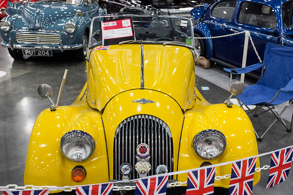 Peter Dakin's 1975 Morgan was one of the thousands of cars on display at the Carl Casper's Custom Auto Show. 2/25/17