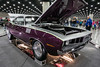 Jerry Chandler's 1971 Plymouth Barracuda was a crowd-pleaser during the Carl Casper's Custom Auto Show. 2/25/17
