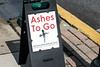 An Ashes to Go site was set up at the corner of Spring and Chestnut Streets in Jeffersonville on Wednesday to help pedestrains begin the Lent season in accordance with Christian tradition. 3/1/17