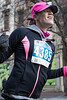 Hallie Coffey smiled as she caught her first glimpse of the Anthem 5K finish line on Main Street. 3/4/17